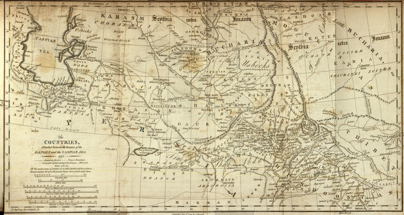 Memoir of a map of Hindoostan; or, The Mogul empire: with an introduction, illustrative of the geography and present division of that country: and a map of the countries situated between the heads of the Indian rivers, and the Caspian Sea