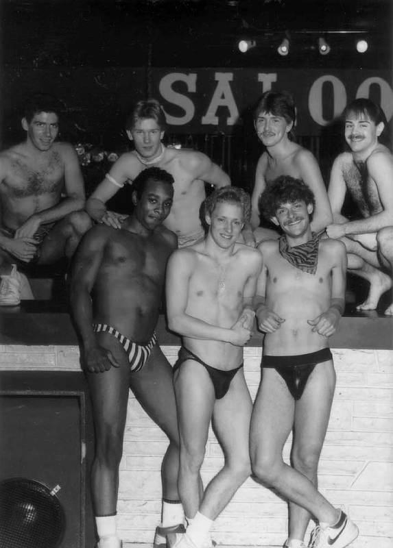 Go-Go Dancers at Gold Coast Saloon