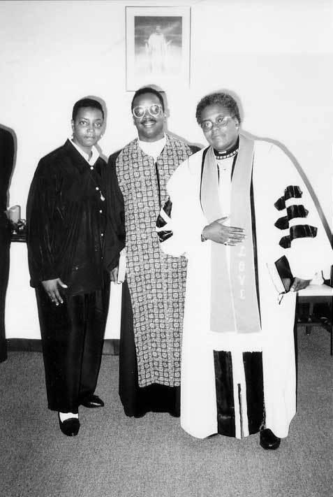 Stephanie Ray-El, Rev. Allen Spencer, & Rev. Renee McCoy