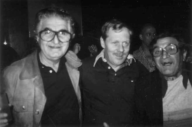"""Andy Karagas, Tony Garneau, and Sam """"Bookie"""" Stewart"""