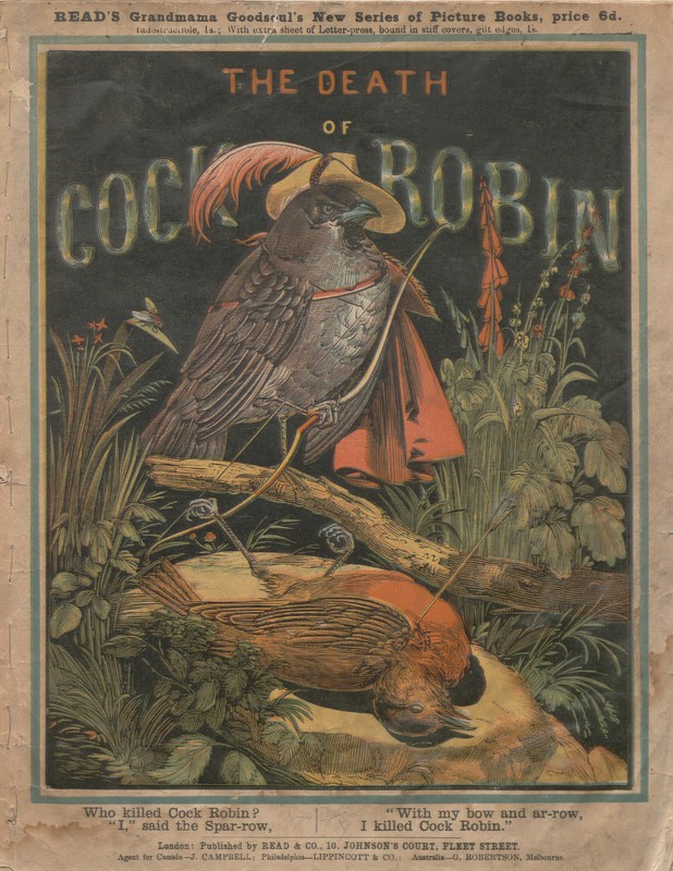 Front cover of The Death of Cock Robin