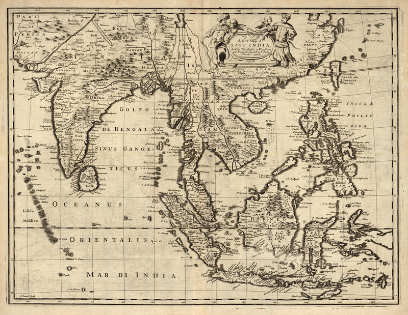 A New Map of East India