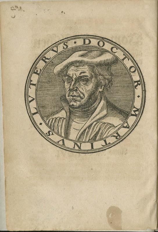 Vom Christlichen abschied ausz diesem tödtlichen leben des Ehrwirdigen Herrn D. Martini Lutheri