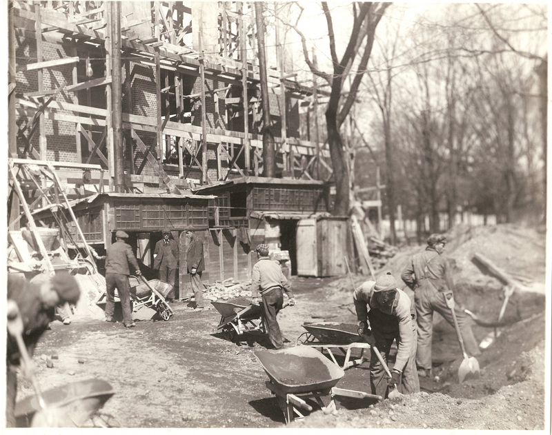 General Library, Construction of 1918