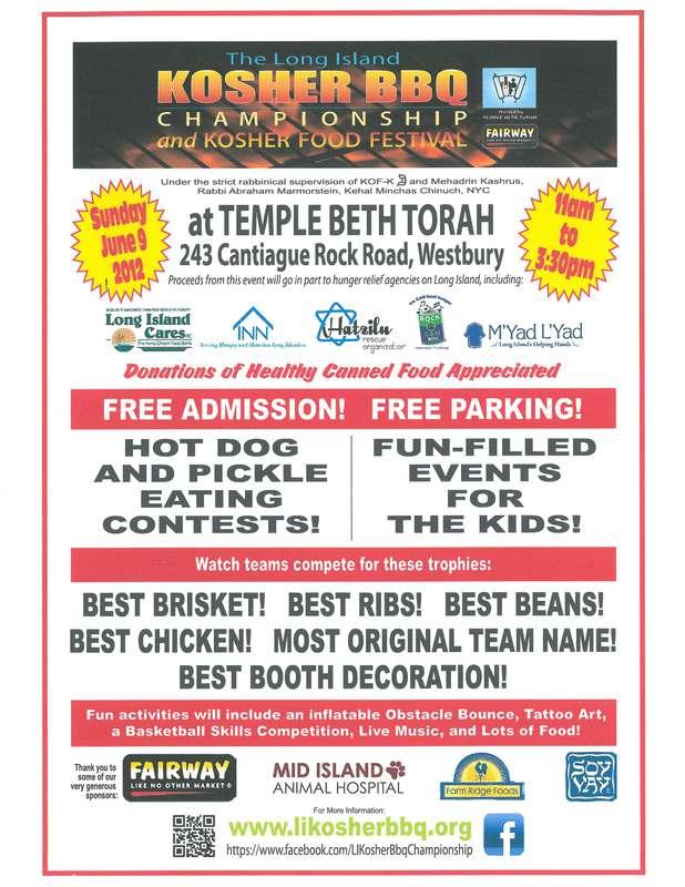 Long Island Kosher BBQ Championship