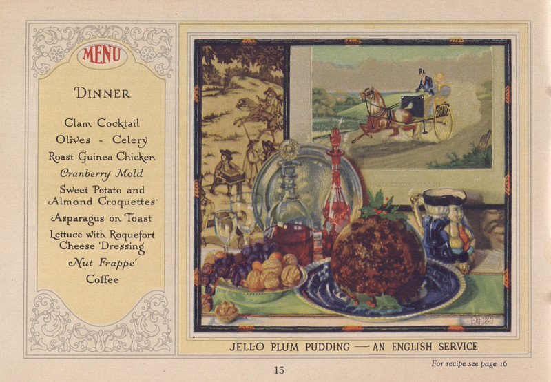Jell-O, America's most famous dessert (1926); p. 15