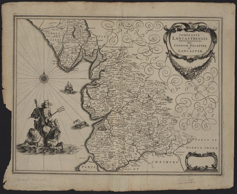 Comitatus Lancastrensis: The Countie Palatine of Lancaster