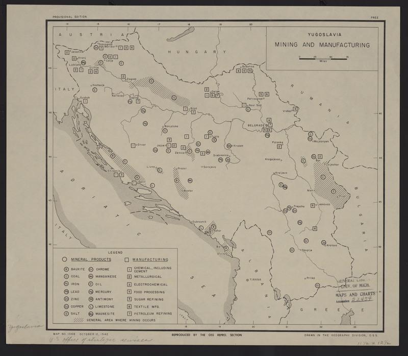 Yugoslavia Mining and Manufacturing