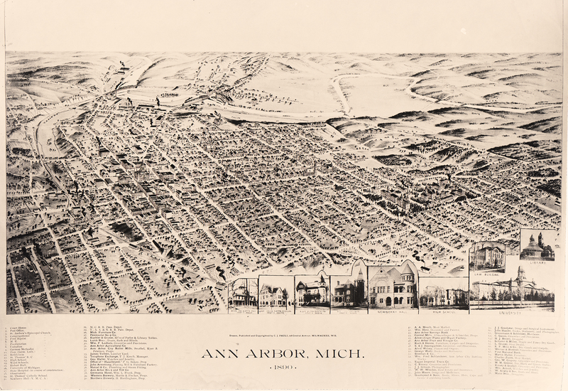 Ann Arbor, Michigan, 1890.