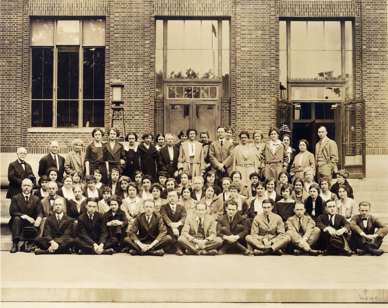 General Library, Staff 1922
