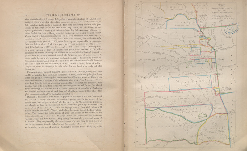 Pages 180-181 of Historical and Statistical Information Respecting the History, Condition and Prospects of the Indian Tribes of the United States; Collected and Prepared under the Direction of the Bureau of Indian Affairs per Act of Congress of March 3d, 1847