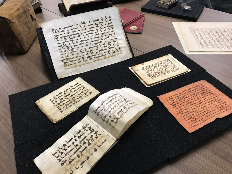 Selection of manuscripts from the Early Abbasid period