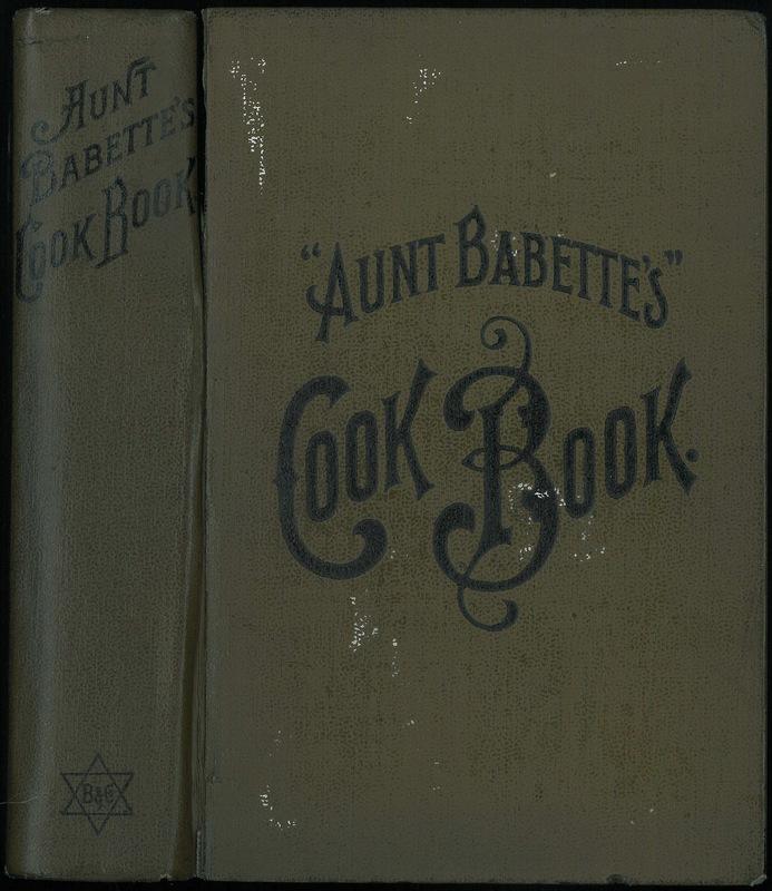 Aunt Babette's Cookbook