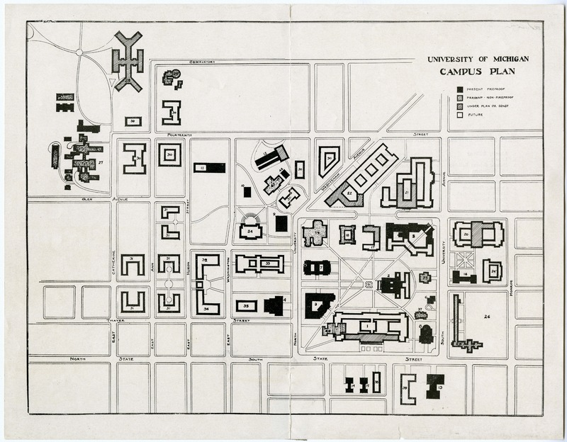 University of Michigan Campus Plan