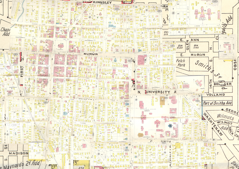 Insurance maps of Ann Arbor, Washtenaw County, Michigan.