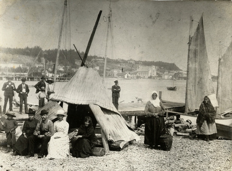 Native Americans on Mackinaw