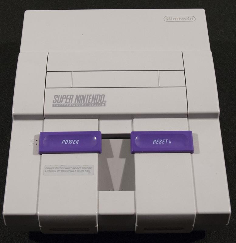Super Nintendo (SNES) Outside