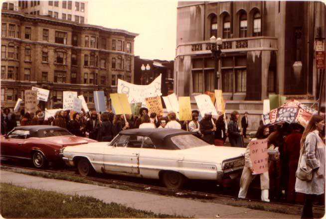 Gay Pride Rally in Detroit (1973)