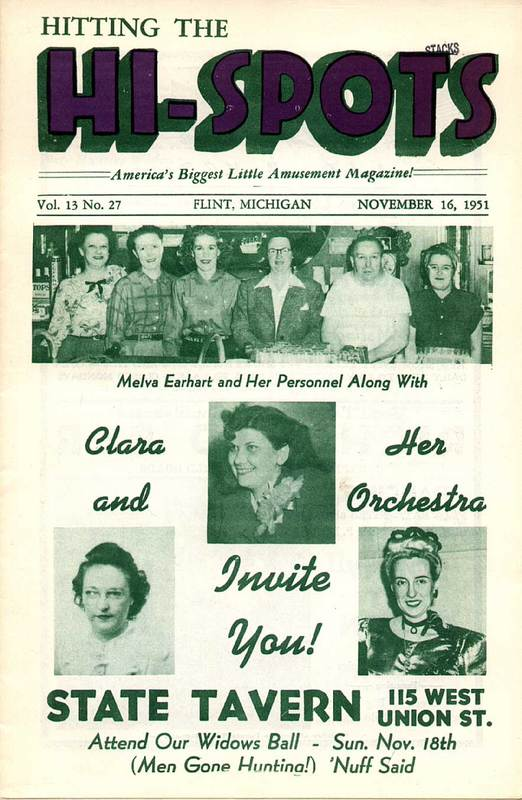 Hitting the Hi-Spots Magazine - 1951