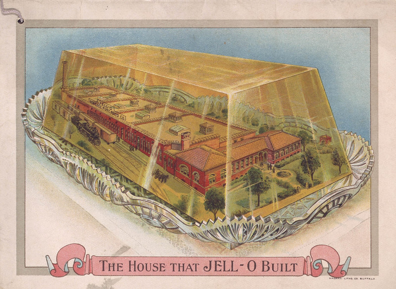 Jell-O, America's most famous dessert (1913?); [back cover]