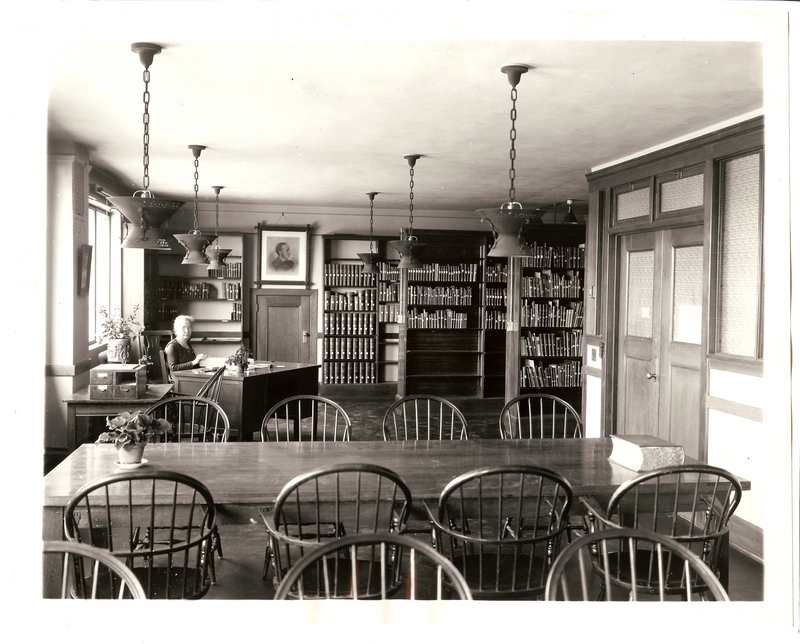 General Library, Graduate Reading Room 3 (Philosophy and Mathematics), ca. 1925