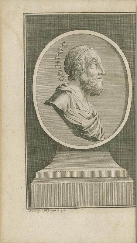 ΟΜΗΡΟΥ ΑΠΑΝΤΑ. Η. Ε Homeri opera omnia, ex recensione et cum notis Samuelis Clarkii, s.t.p.