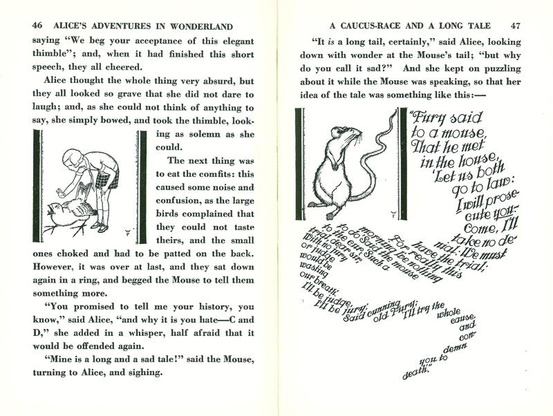 Alice's adventures in Wonderland (1929), p. 46-47