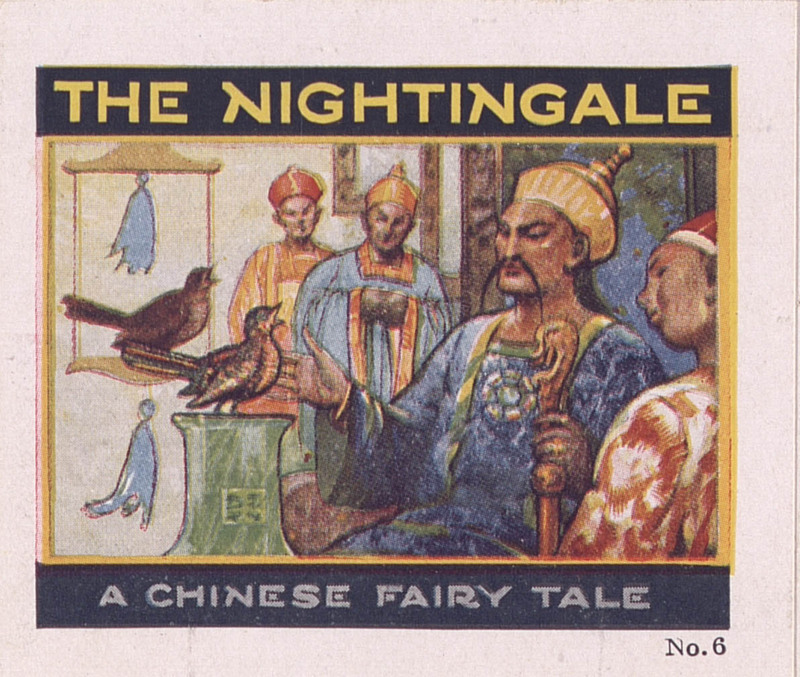 The nightingale: a Chinese fairy tale, no. 6 [Jell-O recipe brochures] (1928); p. [1]