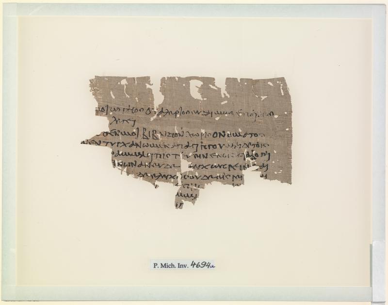 P.Mich.inv. 4694a (P.Mich. IX 522)