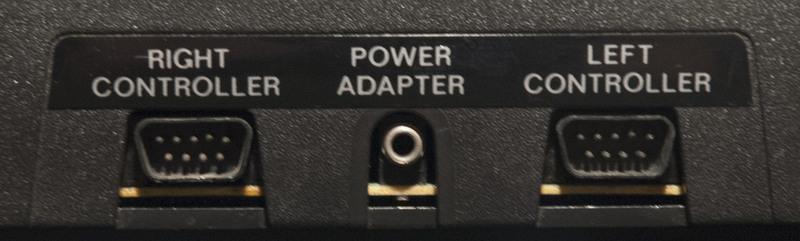 Atari 2600 Controller Ports