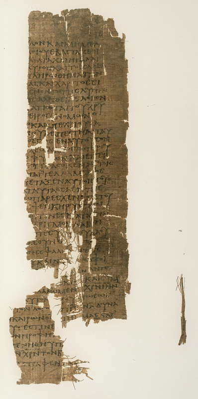 Acts of Paul (fragment)<br />Egypt, second half of the third to first half of the fourth century CE.