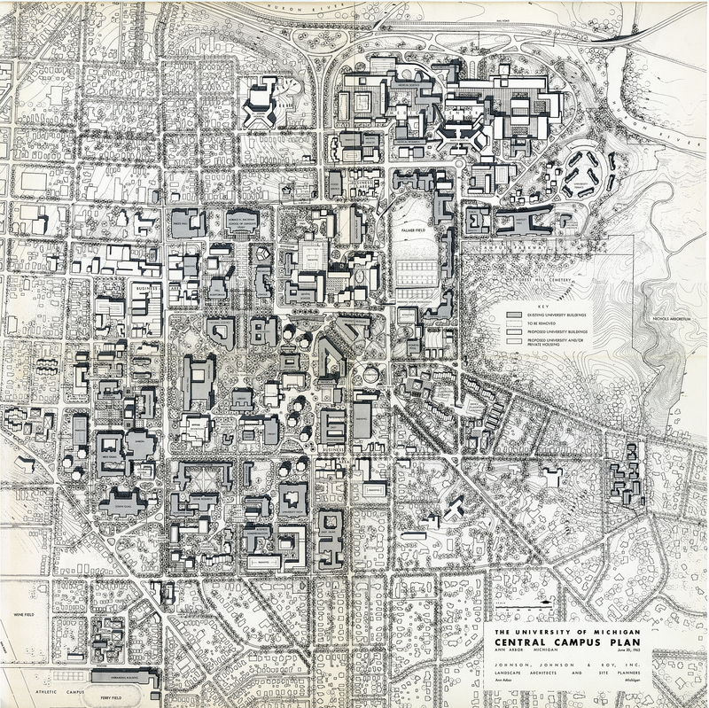 The  University of Michigan Central Campus Plan