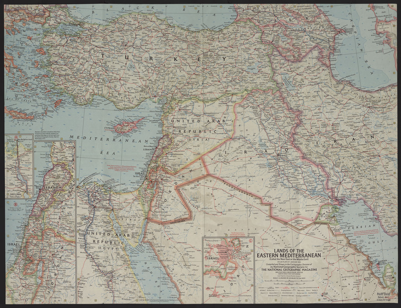 Lands of the Eastern Mediterranean