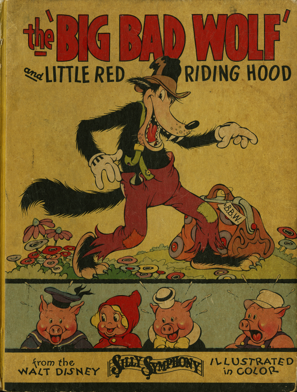 Cover of The Big Bad Wolf and Little Red Riding Hood