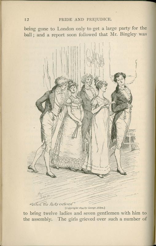 Jane Austen 1817 2017 A Bicentennial Exhibit Pride And Prejudice