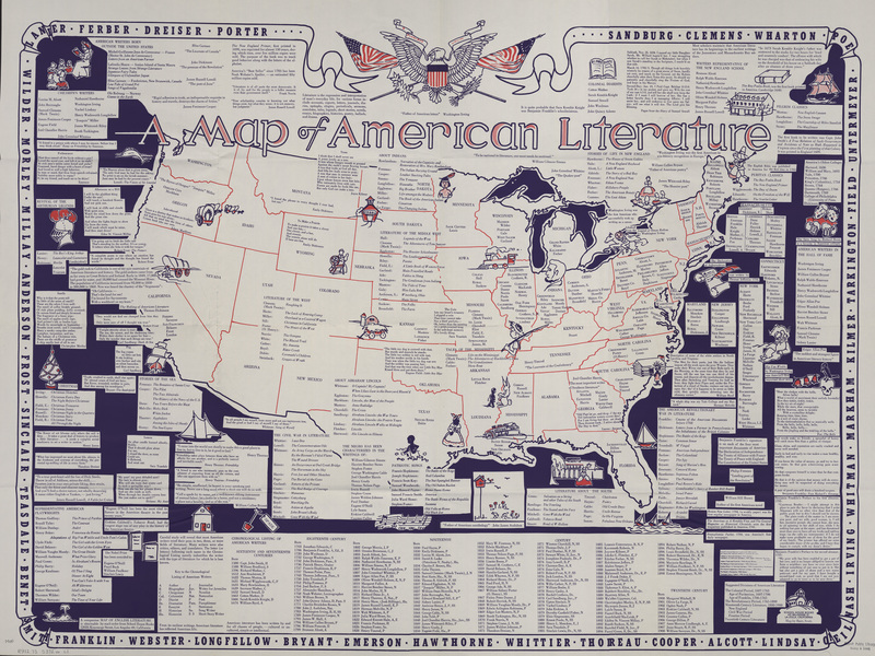 Map of American Literature