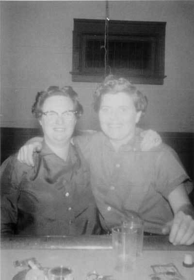 Melva Earhart and Betty Underwood