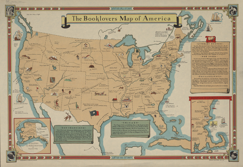 The Booklovers Map of America