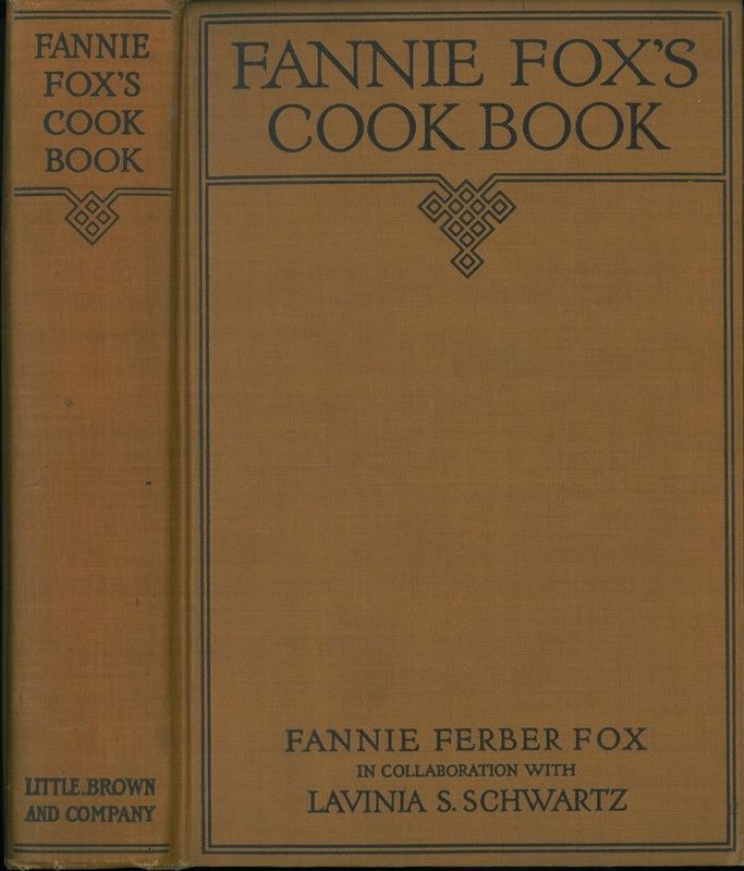 Fannie Fox's Cook Book