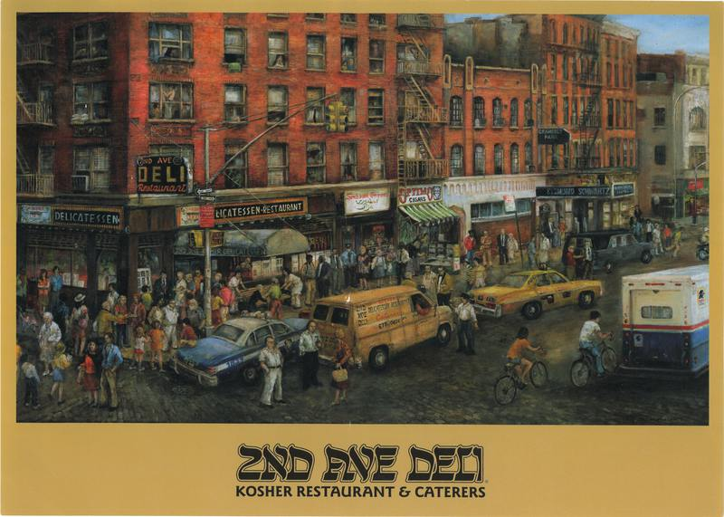 2nd Ave Deli Menu