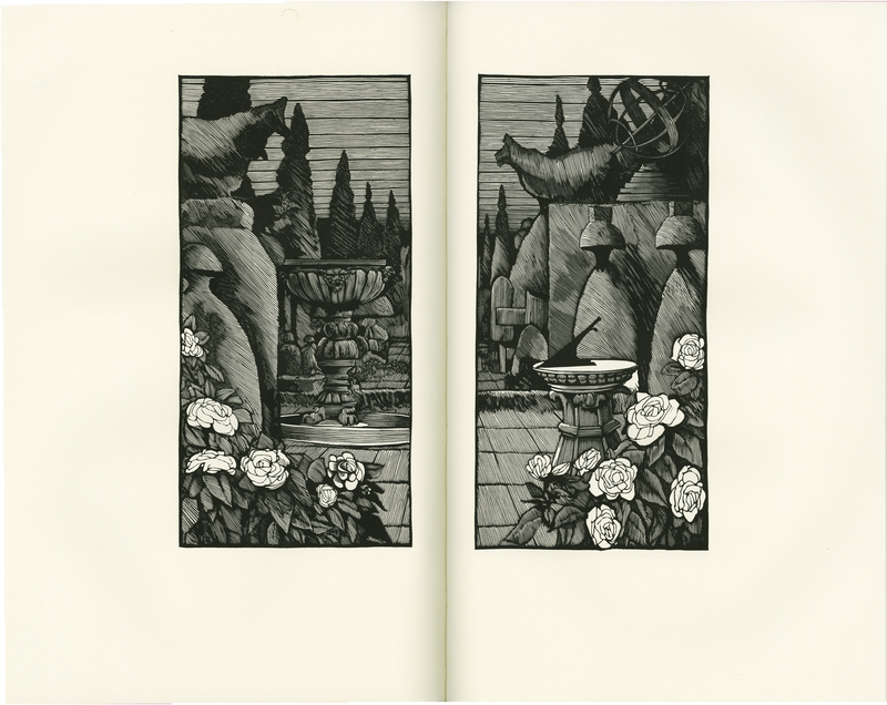 Pages 92-93 of Lewis Carroll's Alice's adventures in Wonderland