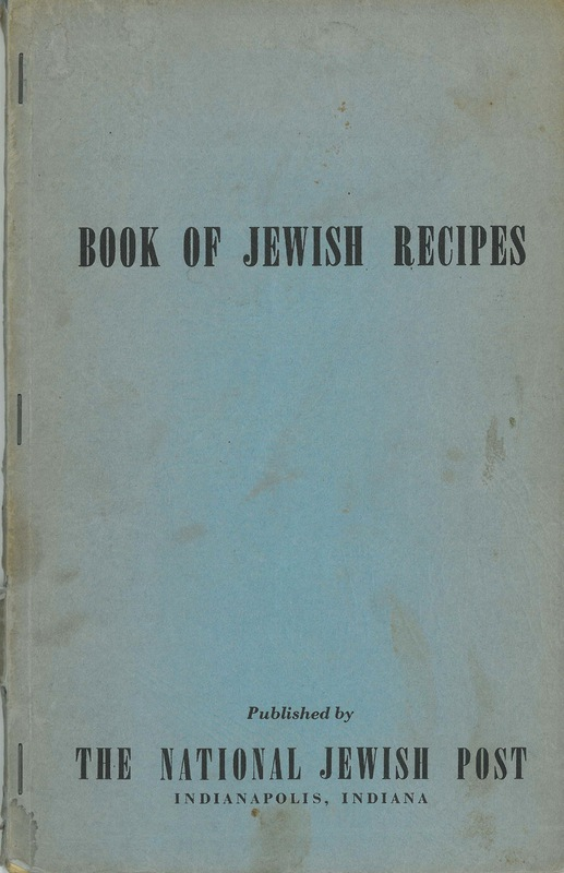 Book of Jewish Recipes