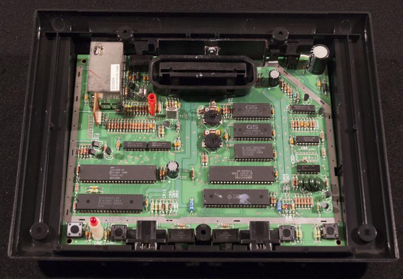 Atari 7800 Inside