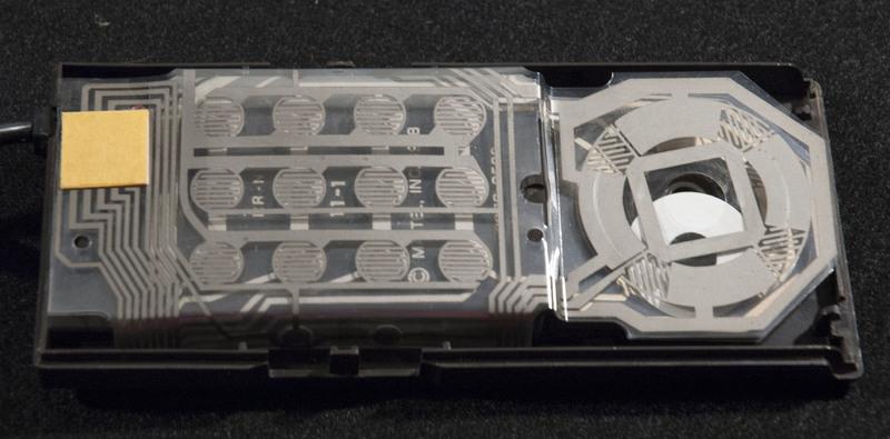 Intellivision controller inside