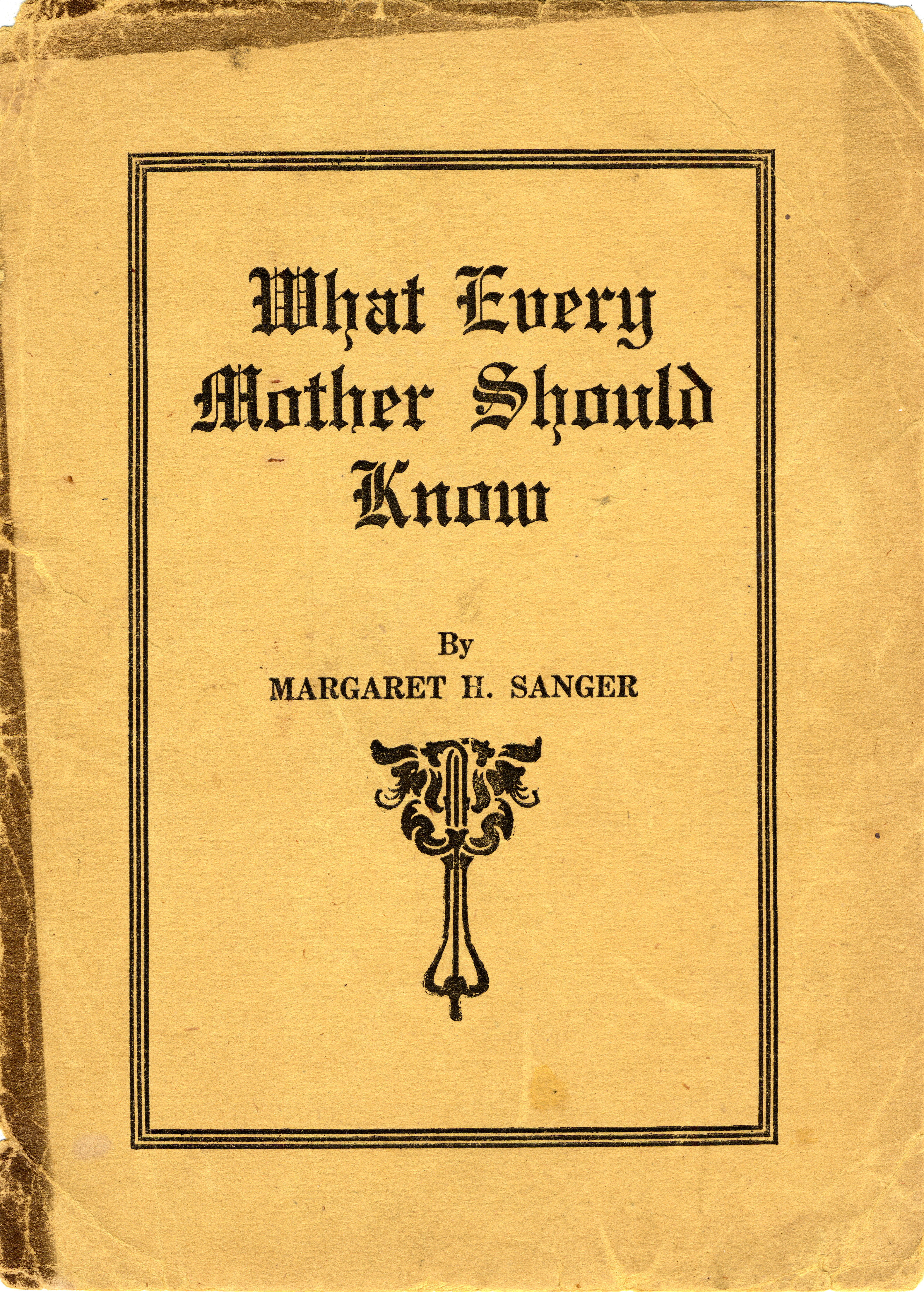 What Every Mother Should Know Online Exhibits Mlibrary