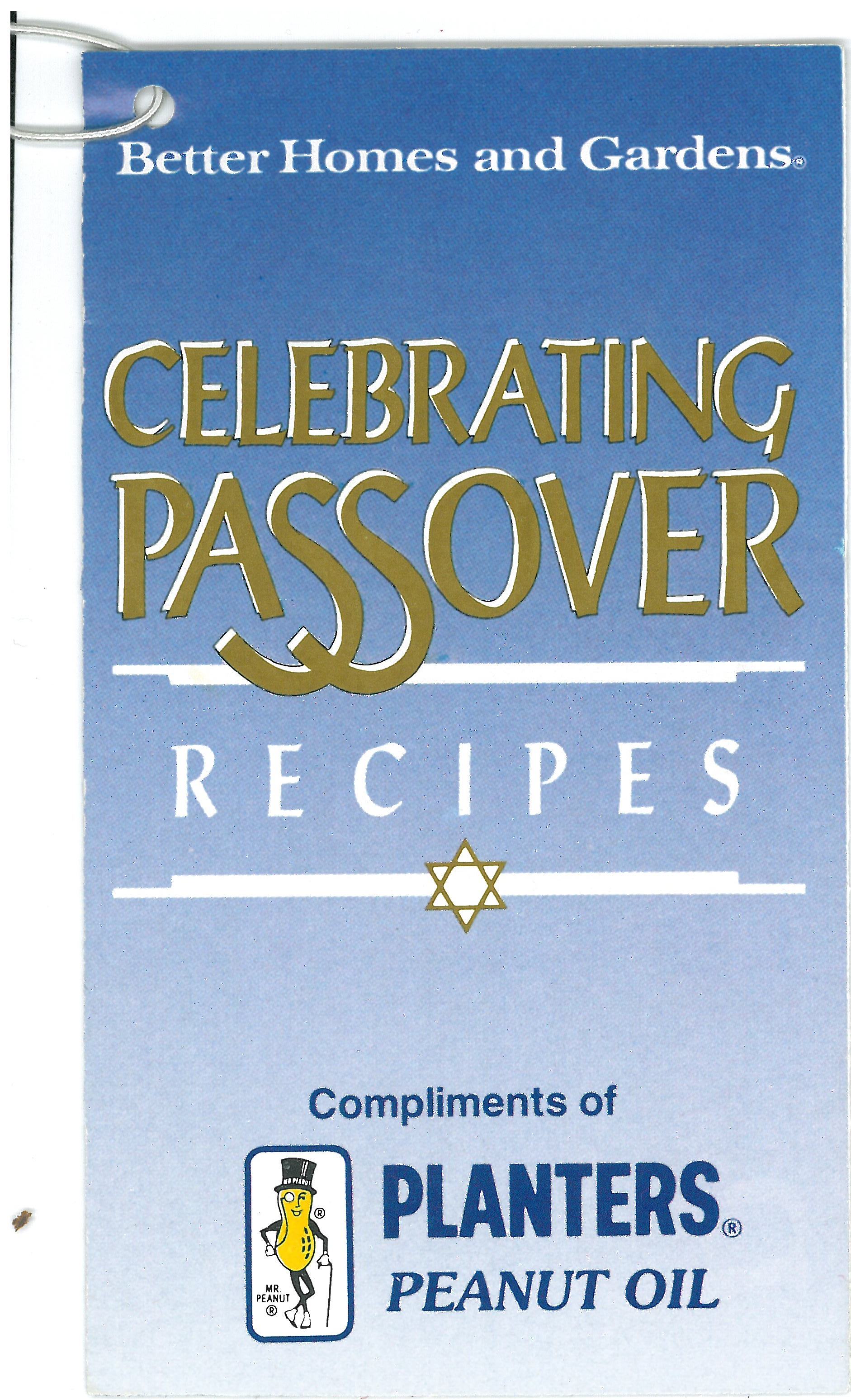 Better Home And Gardens Celebrating Passover Recipes