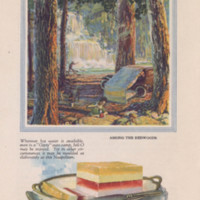 Jell-O, America's most famous dessert, at home everywhere (1922); p. 5