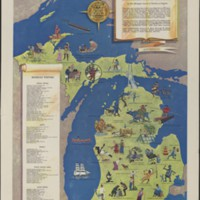 A Literary Map of Michigan