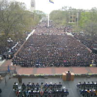 Spring Commencement, 2008 image 1