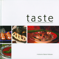 Taste:  A Collection of Contemporary and Traditional Kosher Recipes